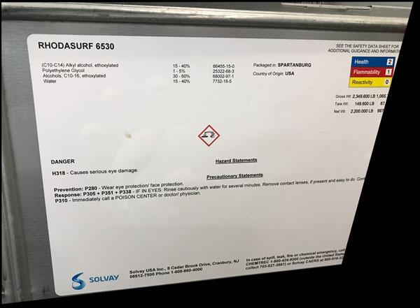 Rhodasurf 6530 - Chemical